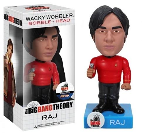 Funko Star Trek Big Bang Theory Raj Wacky Wobbler Renkli